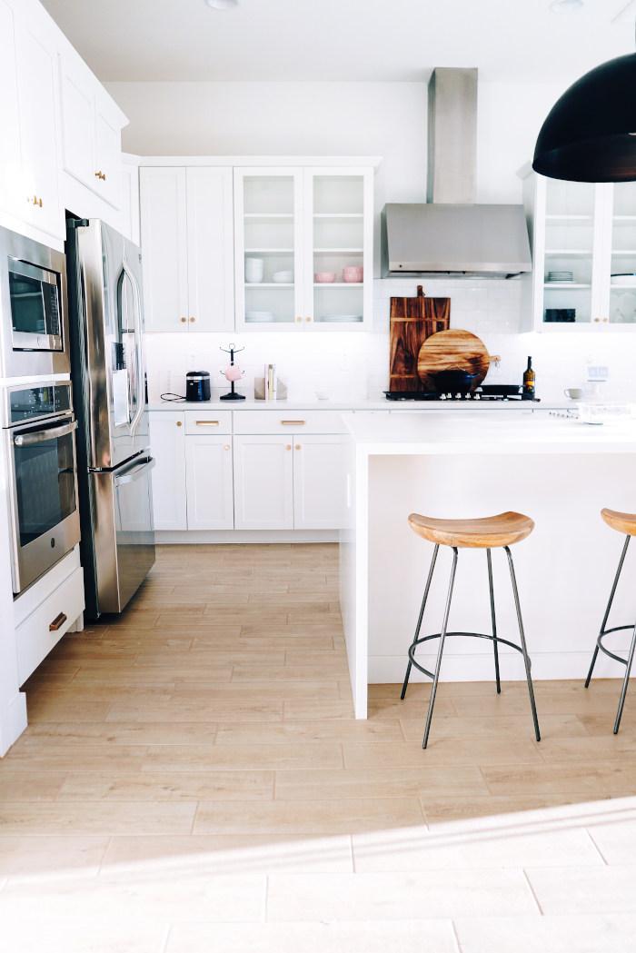 Bilde av et kjøkken som er pusset opp